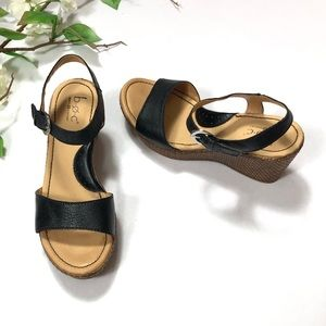 B.O.C Born Concept Wedge Sandals | Size: 6